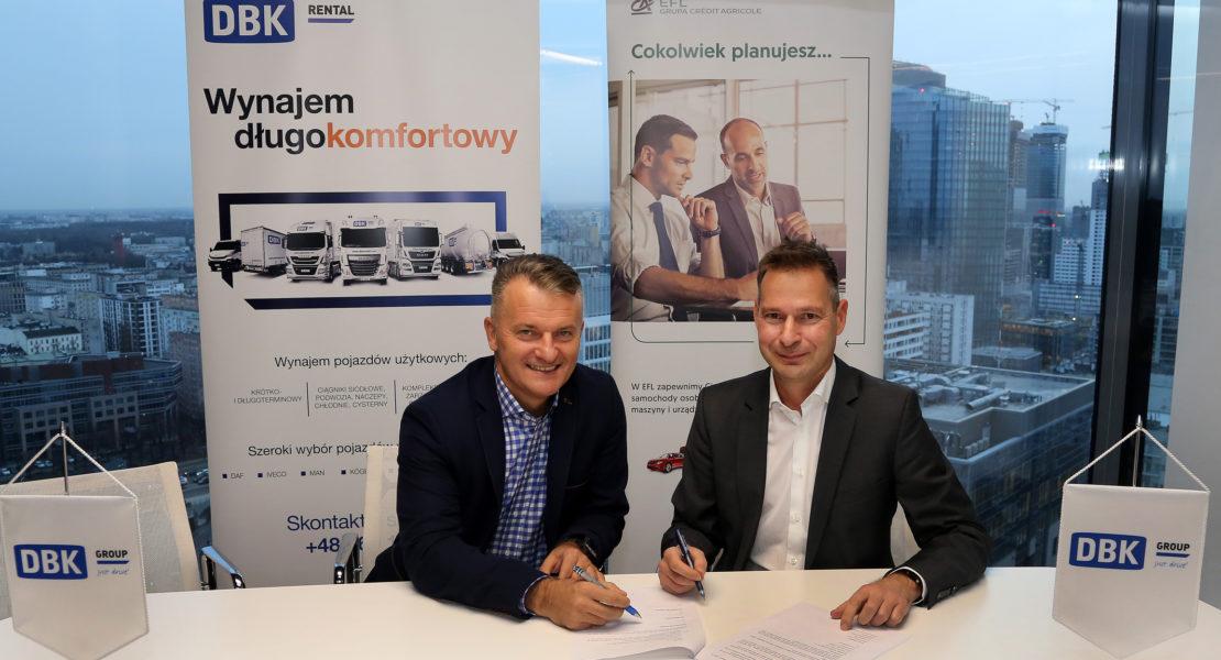 Strategic Partnership Of Efl And Dbk Group