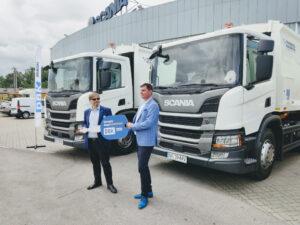 Dbk Rental Dostarcza Pojazdy Komunalne Scania Dla Eneris 1