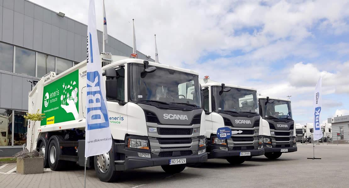 Dbk Rental Dostarcza Pojazdy Komunalne Scania Dla Eneris