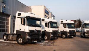Ciągniki Siodłowe Mercedes Actros 1