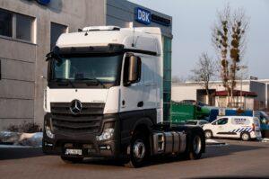 Ciągniki Siodłowe Mercedes Actros 2