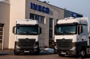 Ciągniki Siodłowe Mercedes Actros 5