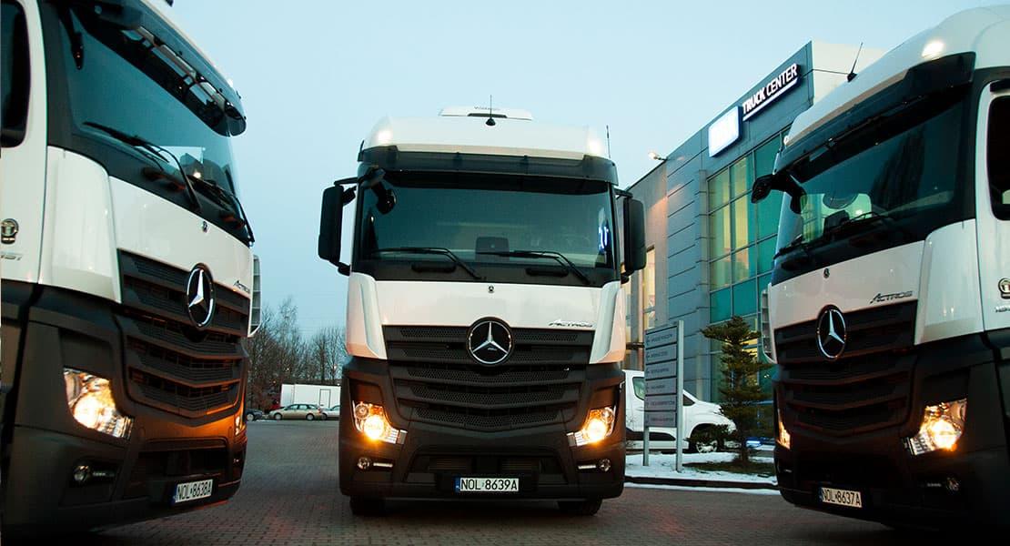 Ciągniki Siodłowe Mercedes Actros