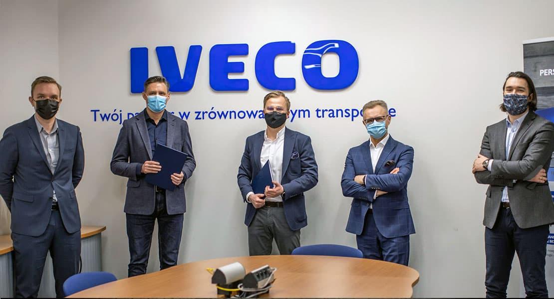 Iveco Dostarczy 350 Najnowszych Modeli Do Hama Polska